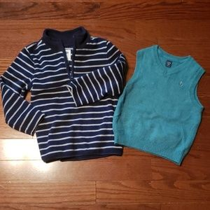 Gap and Old Navy size 5 sweaters